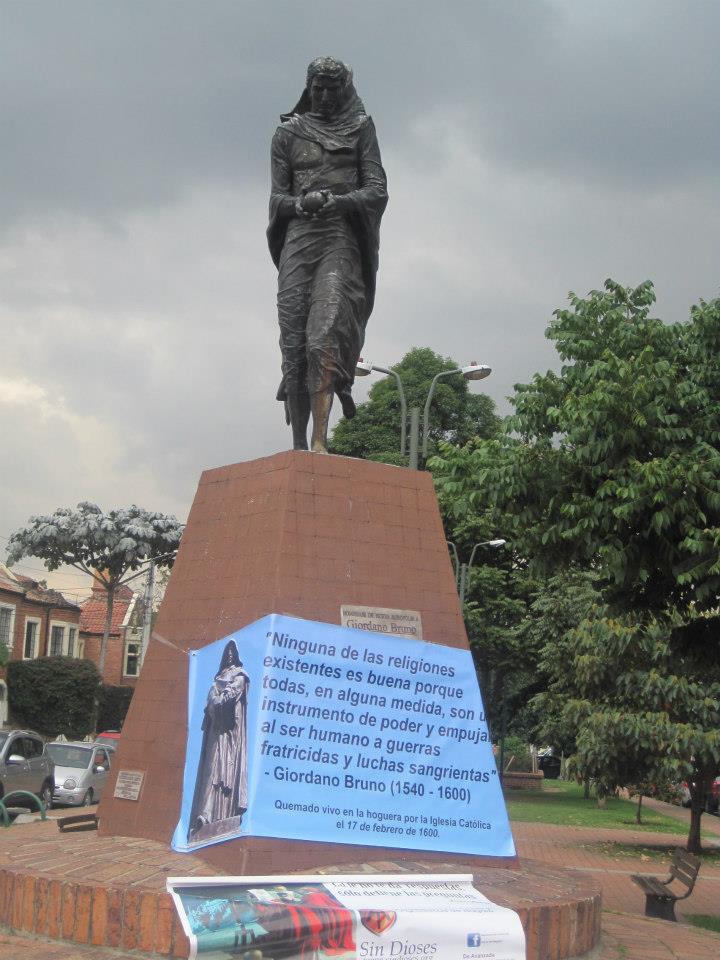 Monumento a GIORDANO BRUNO
