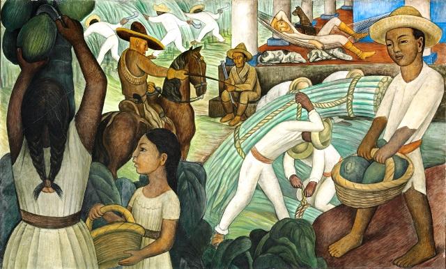 CAÑA DE AZÚCAR Diego Rivera