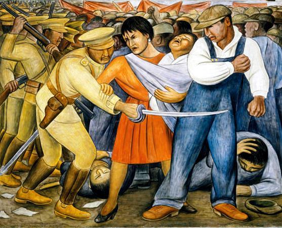 EL LEVANTAMIENTO The_Uprising de Diego Rivera