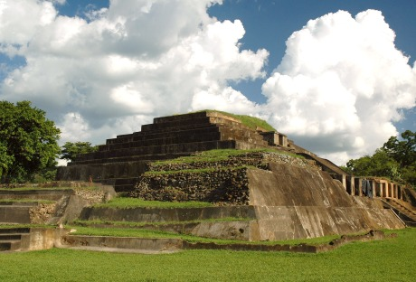 El Tazumal, en Chalchuapa, El Salvador