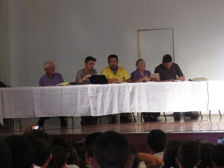 Festival Amada Libertad en Sensuntepeque, 2016.