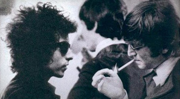 Bob Dylan y John Lennon