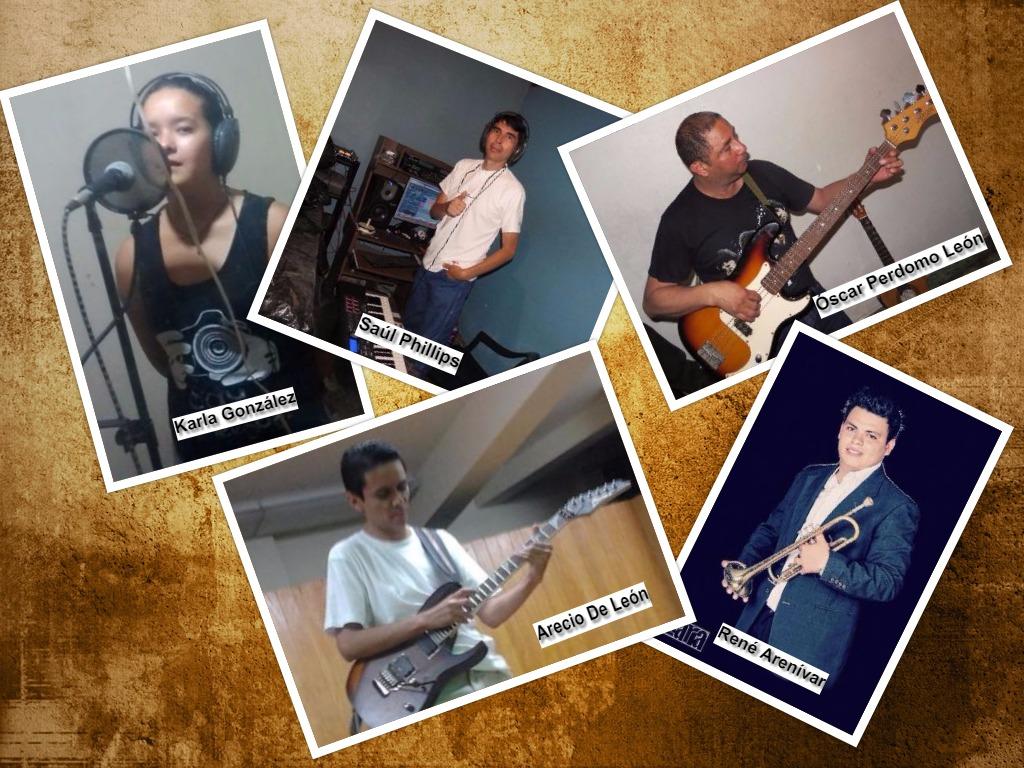 Collage músicos de LA CIENCIA Y LA IGNORANCIA