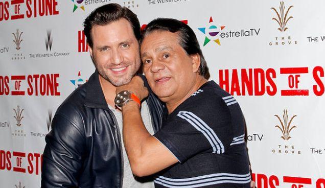 Édgar Ramírez y Roberto