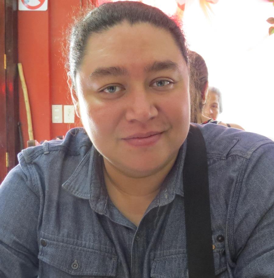 ALEX HERNÁNDEZ. Fotografía tomada por Óscar Perdomo León.
