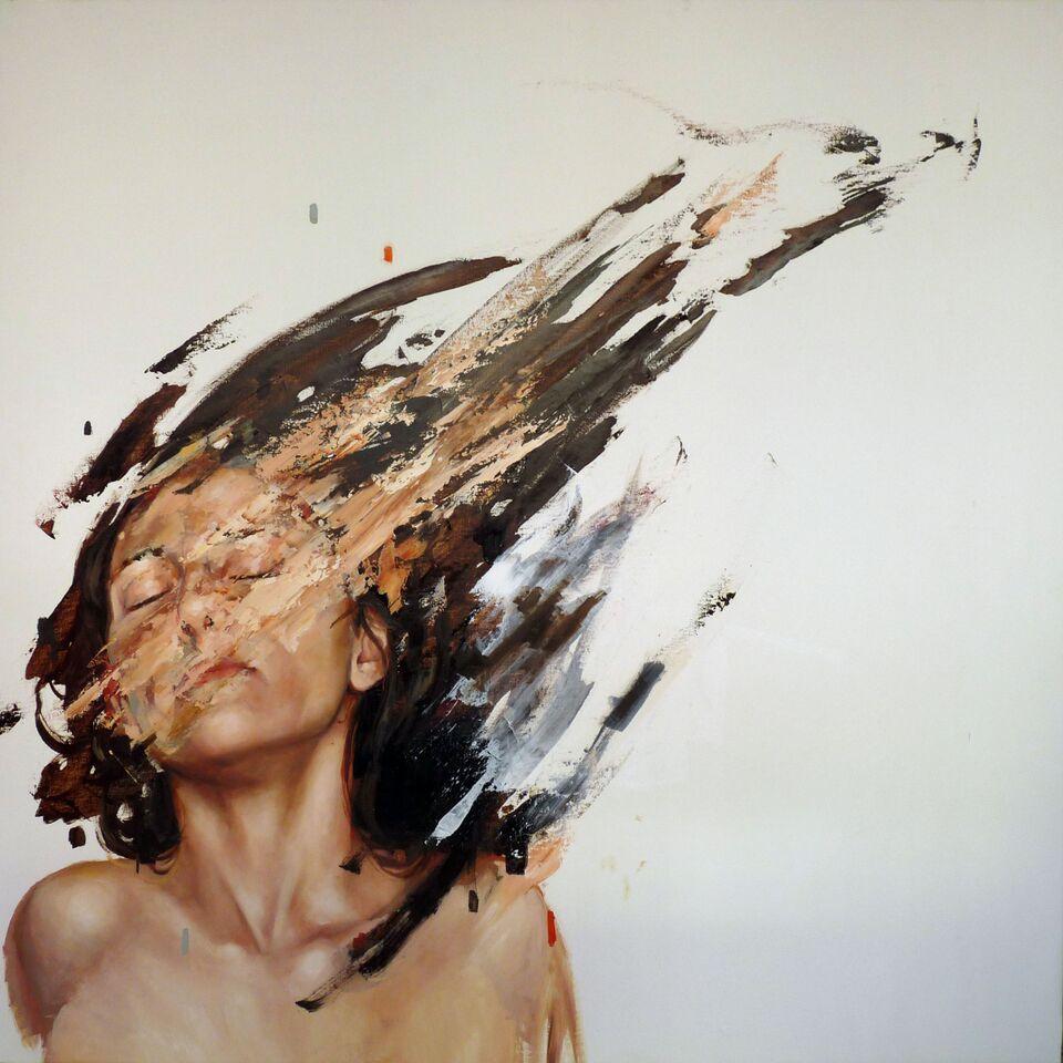 Pintura por César Biojo.