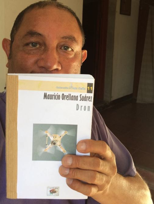 Dron, una novela de Mauricio Orellana Suárez