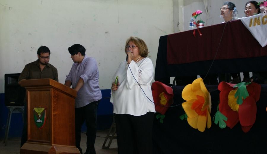 MAYRA RUTH PACHECO. Festival de poesía Amada Libertad. Atiquizaya 11 julio 2019 8