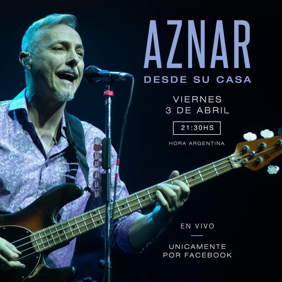 Pedro Aznar, 03 de abril de 2020